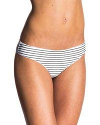 Rip Curl - White Bikini Bottom Classic Surf Cheeky - Lyst