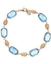 Effy - Fine Jewelry 14k 29.00 Ct. Tw. Blue Topaz Bracelet - Lyst