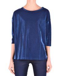 Jacob Cohen - Women's Blue Cotton T-shirt - Lyst