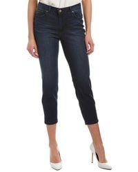 Jones New York - Lexington Cruise Wash Skinny Crop - Lyst