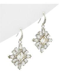 Carolee - Crystal Drop Earrings - Lyst