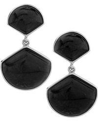 Pangea Mines - Colorado Black Moon Dangle Earrings - Lyst
