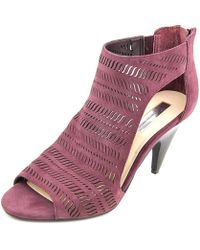 INC International Concepts - Womens Granell Suede Peep Toe Special Occasion Ank... - Lyst