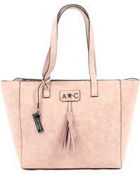 Andrew Charles by Andy Hilfiger - Andrew Charles Womens Handbag Pink Rain - Lyst