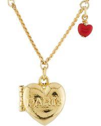 Les Nereides - From Paris With Love Paris Secret-heart Necklace - Lyst