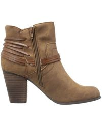 Madden Girl - Womens Denice Closed Toe Ankle Fashion Boots - Lyst