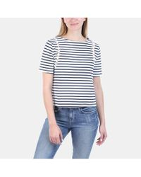 A.L.C. - Charli Striped Crew Neck Tee - Lyst