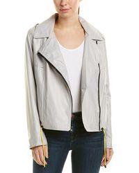 RACHEL Rachel Roy - Moto Jacket - Lyst