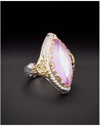 Konstantino - Iliada 18k & Silver Mother-of-pearl Ring - Lyst