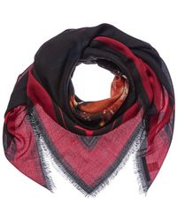 Givenchy - Rottweiler Wool & Silk-blend Stole - Lyst