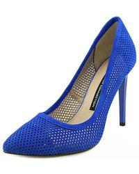 French Connection - Monet Bin Women Peep-toe Synthetic Heels - Lyst
