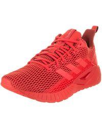 adidas uomini questar cc scarpa da corsa in rosso per gli uomini lyst