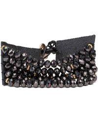 Bungalow 20 - Multi-row Sparkling Beaded Bracelet - Lyst