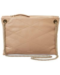 Lanvin - Sugar Small Leather Shoulder Bag - Lyst