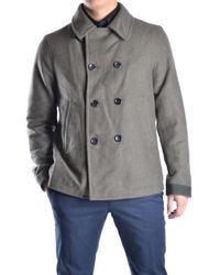 Peuterey | Men's Green Wool Coat | Lyst