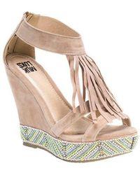 Muk Luks - Women's Ciara Beaded Wedge Sandal - Lyst