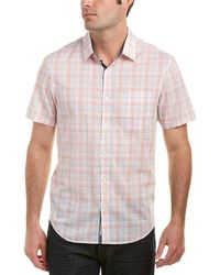Original Penguin - Heritage Slim Fit Woven Shirt - Lyst