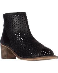 Kelsi Dagger Brooklyn - Gateway Bootie Sandals, Black Leather - Lyst
