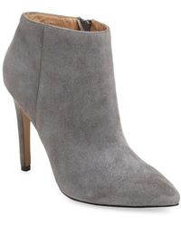 Pure Navy - Pointed-toe Bootie - Lyst