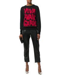 Jeremy Scott - Women's Black Wool Sweater - Lyst