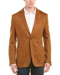 Flynt - Q By Booth Modern Fit Linen-blend Sport Coat - Lyst