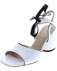 978f37c34ba8 Lyst - Dolce   Gabbana Rhinestone Embellished High Block Heel Pump ...