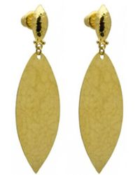 Gurhan | Willow Flake Large Drop Earrings | Lyst