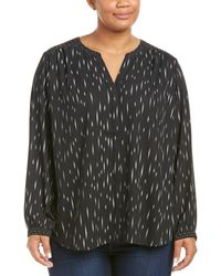 NYDJ - Plus Mix Print Blouse - Lyst