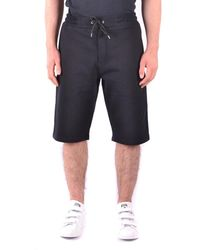 Alexander McQueen - Men's Black Cotton Shorts - Lyst