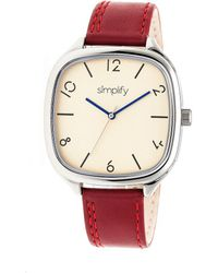 Simplify - The 3500 Leather-band Watch - Lyst