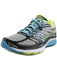Saucony - Guide 9 Women N/s Round Toe Synthetic Multi Colour Running Shoe - Lyst