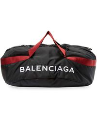 Balenciaga - Medium Wheel Bag Nylon Duffle - Lyst