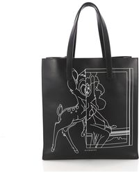 Givenchy - Pre Owned Stargate Shopper Tote Printed Leather Large - Lyst