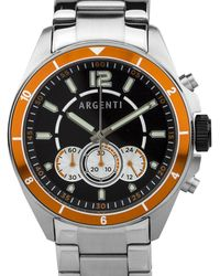 Argenti - Atelier Men's Racing Style Chronograph Watch - Lyst