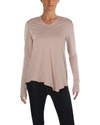 Wilt - Womens Asymmetrical Distressed Tunic Sweater - Lyst