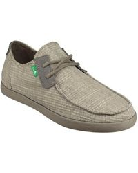 Sanuk - Men's Nu-nami Grain Slub Trainer - Lyst
