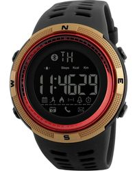 Swiss Time Watches - Gold & Black Galaxy Band Smart Watch - Lyst