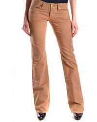 Pinko - Women's Brown Cotton Jeans - Lyst