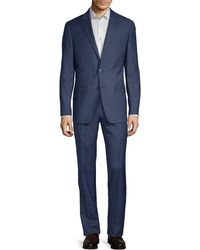 Calvin Klein - Classic Wool Suit - Lyst