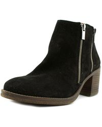 Lucky Brand - Roquee Women Us 5.5 Black Moc Boot - Lyst