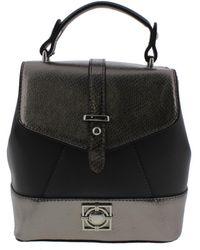 Catherine Malandrino - Womens Gigi Faux Leather Metallic Backpack - Lyst