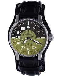 Fortis - ;flieger Cockpit Olive Watch - Lyst
