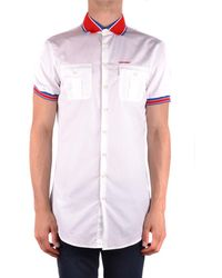 DSquared² - Men's Mcbi107262o White Cotton Shirt - Lyst