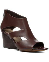 Donald J Pliner - Jenkin Leather Wedge Sandal - Lyst
