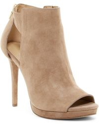 Kors by Michael Kors - Kors By Michael Kors Womens Mira Open Toe Suede Peep Toe Classic Court Shoes - Lyst