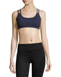 Splendid - Strappy Sports Bra - Lyst