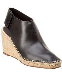 Céline - Espadrille 85 Frame Toe Leather Bootie - Lyst