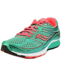 Saucony - Guide 9 Round Toe Synthetic Running Shoe - Lyst