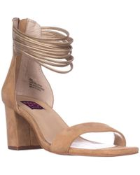 Mojo Moxy - Cookie Ankle-strap Dress Sandals, Natural - Lyst