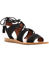 Lucky Brand - Brenny Lace Up Ghillie Sandals - Lyst